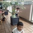 おれんじ 5歳児 朝採れきゅうり☆プール