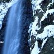 養老の滝。。。雪景色☆