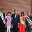 松原市議選でもりた夏江、福嶋みつひろ、野口まち子、うえ松えいじにみなさんの大切な一票を託して下さい。