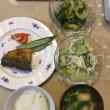 鯖のカレームニエル定食