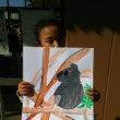 東山動物園親子写生遠足作品3