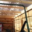 除雪機小屋作りました!!