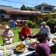 空き家を活用したコミュニティハウス和の「野草を食する会」に参加しました。