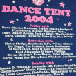 "Glastonbury 2004  ""DANCE TENT"" TEE"