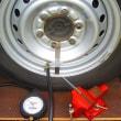 ZiL 520のタイヤの空気圧と変位量
