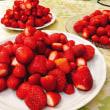イチゴの山