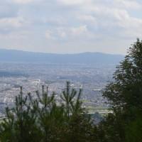 まち歩き西0964 嵐山 山頂近くからの 嵯峨野の眺め