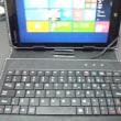 miix2 8用に7inch専用タブレットキーボード付ケース購入