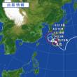 台風5号の勢力がすごい!!