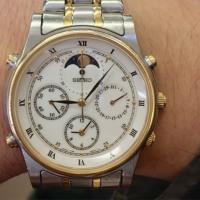 今日の腕時計 12/5 SEIKO CRUISING 7T36-6A80 Moon Phases