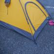 色々と失敗@道の駅でテント