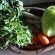 野菜でも収穫するかな?