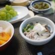 ブリ大根と黒豆の枝豆と連日鍋と英国フェアスコーン