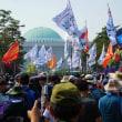 韓国・民主労総がゼネスト 最低賃金制改悪に怒り ムン政権と激突、国会包囲