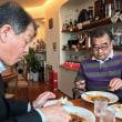 浜松の中区中央1丁目の美味しいコーヒーと食事 名城大学剣道部後援会静岡県支部会議 昼食会 浜松の中区のOBのお店 異豆珈琲店