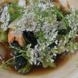 パクチー温付け素麺