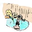 祖谷温泉-原子力の日に