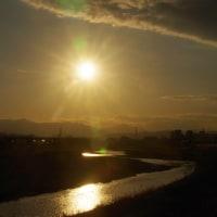 H31.1.14   高幡橋からのダイヤ富士はダイヤタイムの後がドラマチックだった