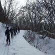 登山指導者の雪山研修会