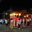西乗寺の盆踊りと稲WCS(稲発酵粗飼料)の刈り取り