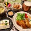 かきフライの夕ご飯