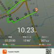 さらっと歩いて #HUAWEI の新しい #散歩 log機能を試してみた 悪くないね #上海