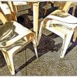 イベント場の椅子を撮った