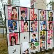 転載: 確かに、41番の候補者のポスターが剥がされているのを目にします。