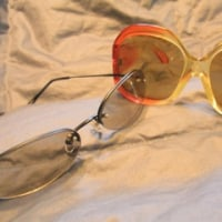 ■大ぶりサングラス