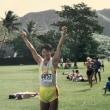 初マラソンの写真が出てきました。今年、再びチャレンジします!