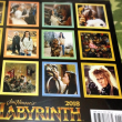 Jim Henson's Labyrinth 2018 Wall Calendar ☆