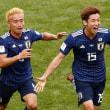 のんびりの一日でした。昨夜のサッカーWカップで日本勝利・・・・