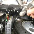 【静電気対策:久々にトラックに施工して頂きました】最初は見比べないと分からないからスタートします!!