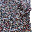 パリつれづれなるまま に買い付け-1475/CARNET DE VOL chemise motif M size
