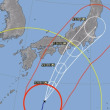 台風21号と衆議院選挙