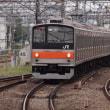 205系M18編成むさしの号八王子行@立川駅