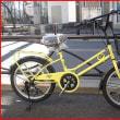 ★アウトレットセール・新品・アサヒ・17年モデル・ブライトディ・20・6段・LEDオートライト・レモンライム