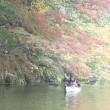 紅葉の亀山湖
