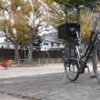 自転車(ノルコグ)の後輪のタイヤ交換をやってみた