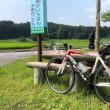猛暑で自転車へ