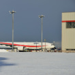 12/11 新政府専用機 B-777 2号機到着