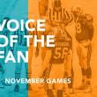 ファンの声:11月の試合