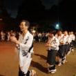 「妙・法」の送り火の元。松ヶ崎「涌泉寺」で行われる昔ながらの「題目踊り」と「さし踊り」