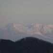 三王山自然公園からの日の出は雲の中 (+那須岳眺望)  2019.1.12
