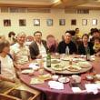 荘さんご家族と夕食