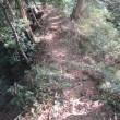 城ロマン:大崩山塊の四城址巡り(方の上城址)
