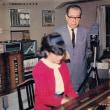 金沢ピアノ塾の金沢孝次郎氏(1961年)