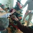 ♪クリスマスツリーの飾りつけ♪