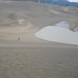 鳥取砂丘・下りは絶好調