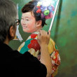肖像画研究会も連日大忙しとなっております。「吉田肖像美術」